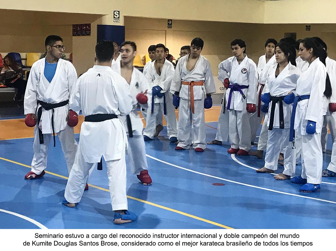 Instructor brasileño dos veces campeón del mundo realizó
