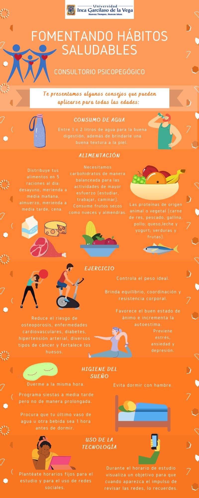 Fomentando Hábitos de vida saludable
