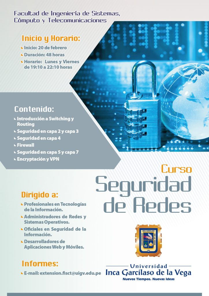 Seguridad de Redes 20 Feb